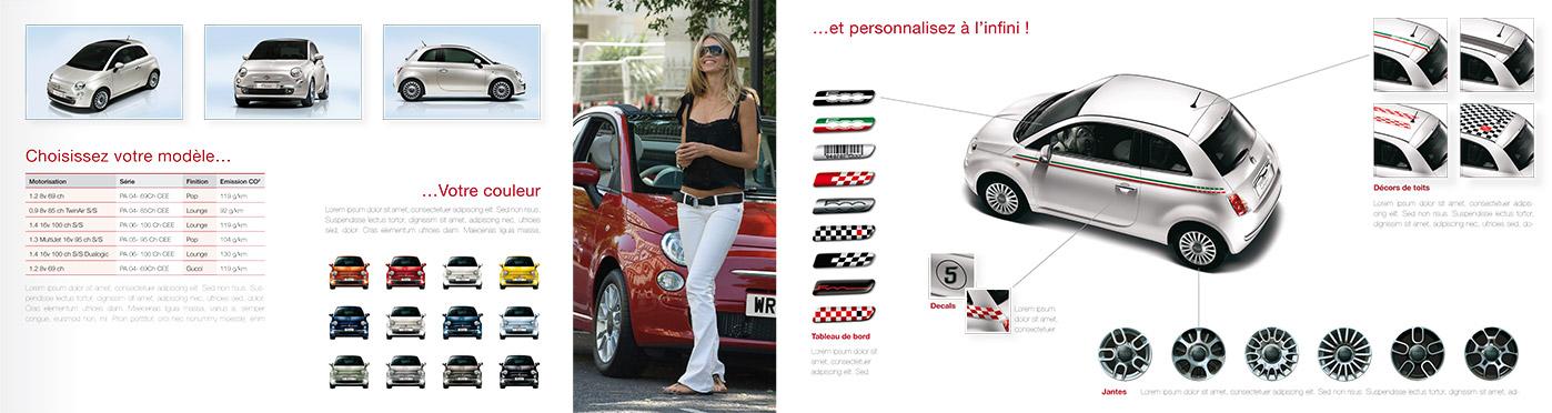 Mailing Fiat - Intérieur