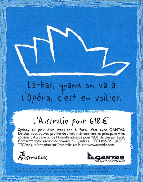 Qantas - L'opéra