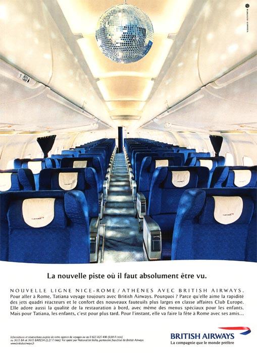 British Airways - La piste